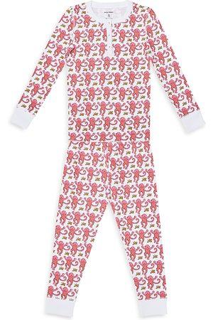 Roller Rabbit Sets - Unisex Monkey Pajama Set - Baby