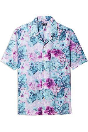 Vilebrequin Men Short sleeves - Porto Rico Charli Short Sleeve Bowling Shirt - 100% Exclusive