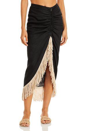 Just BEE Queen Mallorca Fringed Skirt