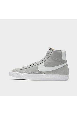 Nike Men's Blazer Mid '77 Suede Casual Shoes in Grey/Light Smoke Grey Size 11.5