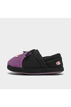 Champion Girls' Little Kids' University II Colorblock Slippers Size 3.0 Knit/Jersey