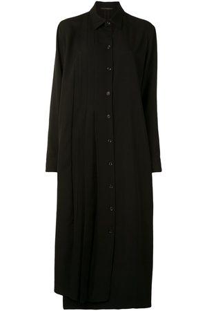 YOHJI YAMAMOTO Pleated shirt dress