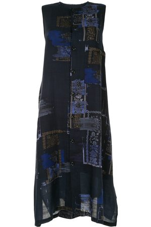 Y'S Abstract print knitted dress