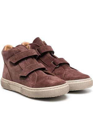 PèPè Touch-strap hi top sneakers