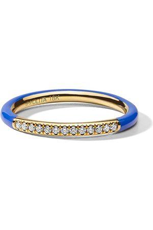 Ippolita Women Rings - 18kt yellow diamond Stardust band ring