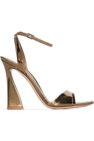 Gianvito Rossi Aura 105mm patent-leather sandals
