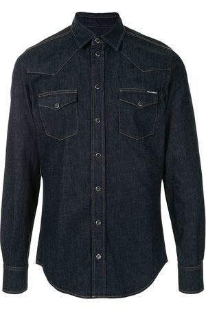 Dolce & Gabbana Flap pockets denim shirt