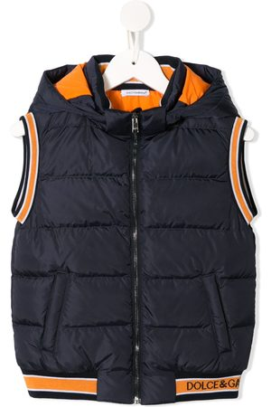 Dolce & Gabbana Padded sleeveless jacket
