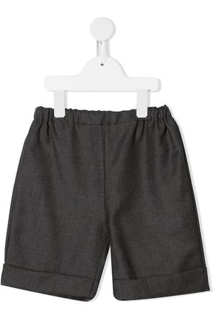 SIOLA Elasticated-waist shorts - Grey