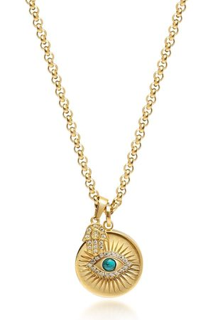 Nialaya Evil Eye pendant necklace