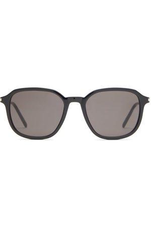 Saint Laurent Square Acetate Sunglasses - Womens