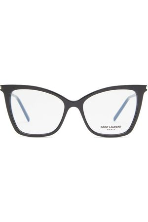 Saint Laurent Women Sunglasses - Cat-eye Acetate Glasses - Womens