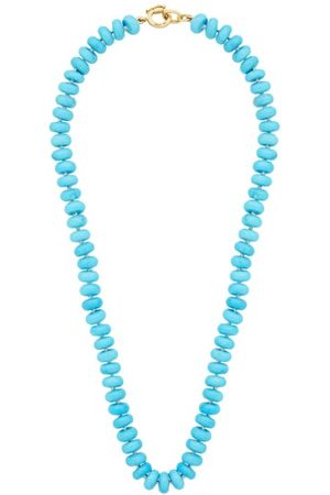 Irene Neuwirth Women Necklaces - Candy Turquoise & 18kt Gold Necklace - Womens