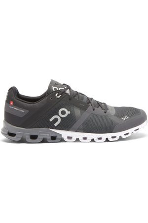 ON Cloudflow Mesh Running Trainers - Mens - Grey