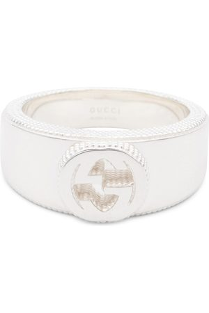 Gucci Interlocking-G sterling ring