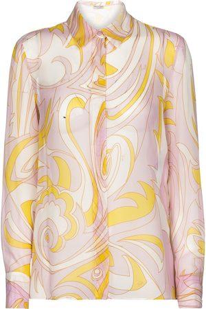 Emilio Pucci Printed silk chiffon shirt