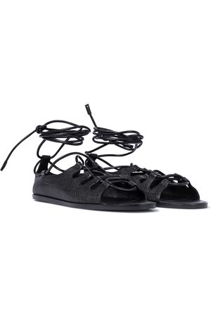 The Row Gilli leather sandals