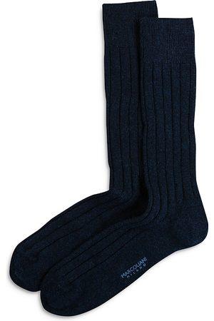 Marcoliani Men Socks - Ribbed Dress Socks