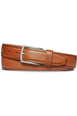 SHINOLA Men's Bombay Topstitch Leather Belt