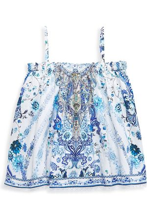 Camilla Girl's Paisley Flared Top - - Size 12
