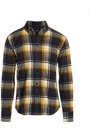RAG&BONE Men's Fit 2 Tomlin Plaid Shirt - - Size Medium