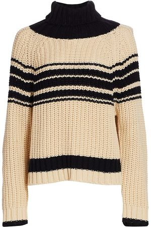 Essentiel Antwerp Women's Weyond Stripe Sweater - - Size Small