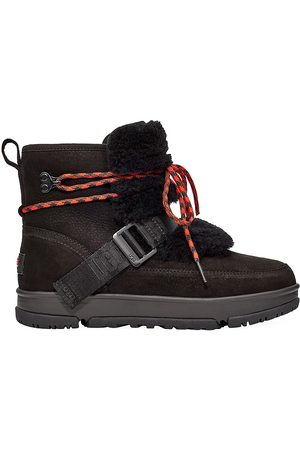 UGG Women's Classic Weather Faux Fur Hiking Boots - - Size 8.5