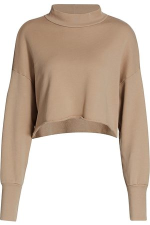 NSF Women's Rio Cropped Mockneck Sweatshirt - - Size Medium