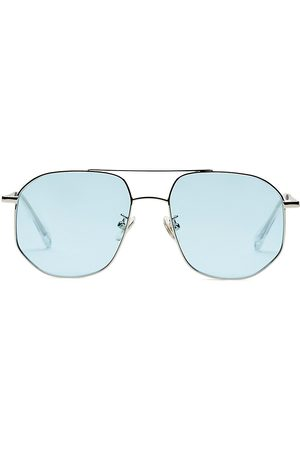 Kamo Women's The Dude 55MM Aviator Sunglasses - Frame Lens