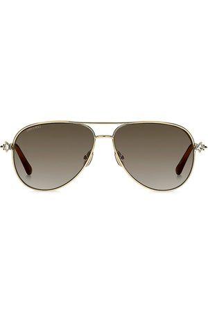 Jimmy Choo Women's Sansa 58MM Aviator Sunglasses