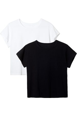 Leset Women's Classic Margo 2-Piece T-Shirt Set - - Size Medium
