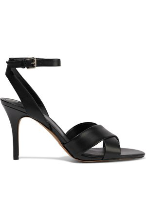 DKNY Woman Ivy Leather Sandals Size 10