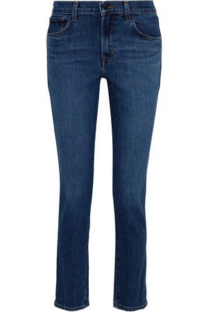 J Brand Women High Waisted - Woman Ruby 30 High-rise Slim-leg Jeans Size 23
