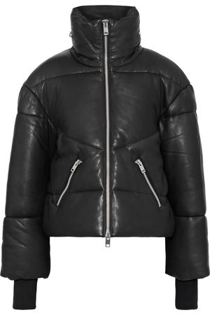 Walter Baker Women Leather Jackets - Woman Edwina Quilted Leather Jacket Size L