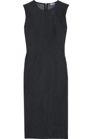 MUGLER Women Midi Dresses - Woman Stretch-mesh Dress Size 34