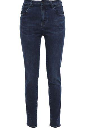 J Brand Woman 835 High-rise Skinny Jeans Mid Denim Size 23