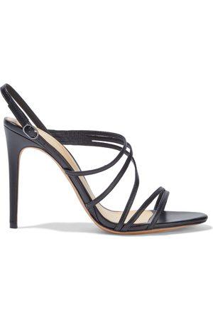 ALEXANDRE BIRMAN Woman Leather Slingback Sandals Size 36