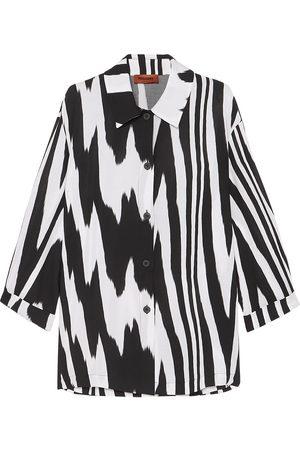 Missoni Woman Printed Woven Shirt Size 38