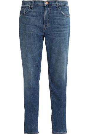 J Brand Women Boyfriend Jeans - Woman Faded Slim Boyfriend Jeans Indigo Size 27