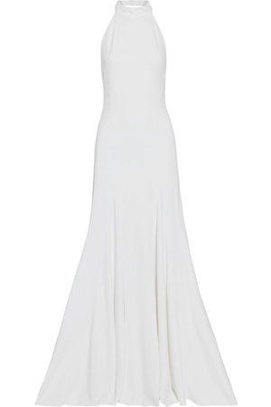 Stella McCartney Women Halterneck Dresses - Woman Stretch-crepe Halterneck Gown Size 44