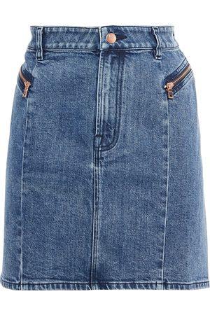 J Brand Woman Lillian Faded Denim Mini Skirt Mid Denim Size 24