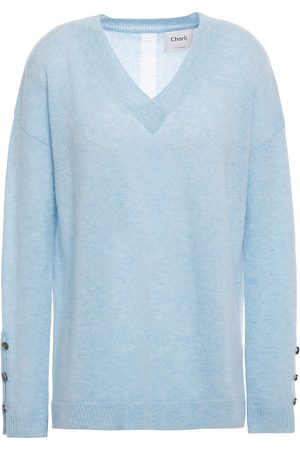 Charli Woman Celli Button-detailed Cashmere Sweater Light Size XS
