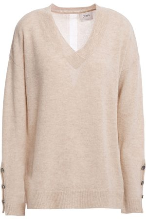 Charli Woman Celli Button-detailed Cashmere Sweater Size XS