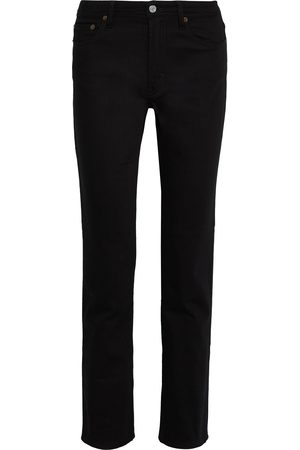 Acne Studios Women High Waisted - Woman South High-rise Straight-leg Jeans Size 23W-32L