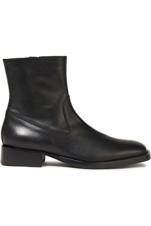 ANN DEMEULEMEESTER Women Ankle Boots - Woman Leather Ankle Boots Size 35