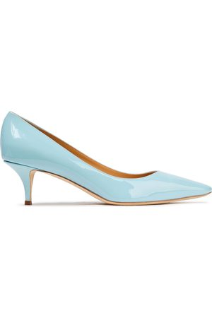 Giuseppe Zanotti Women Pumps - Woman Notte 50 Patent-leather Pumps Sky Size 36
