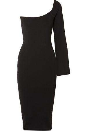 Solace Woman The Fiorella One-shoulder Stretch-knit Dress Size 14