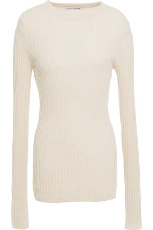 AUTUMN CASHMERE Woman Ribbed Cashmere Sweater Size S