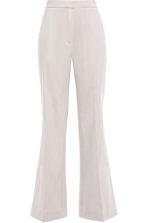 AlexaChung Woman Cotton-blend Drill Flared Pants Light Size 10