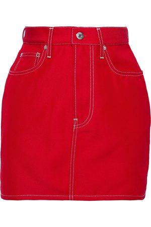 Helmut Lang Woman Denim Mini Skirt Size 26